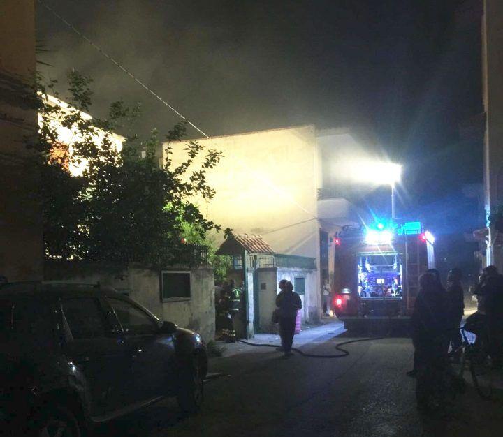 Giugliano. Incendio in un appartamento del centro