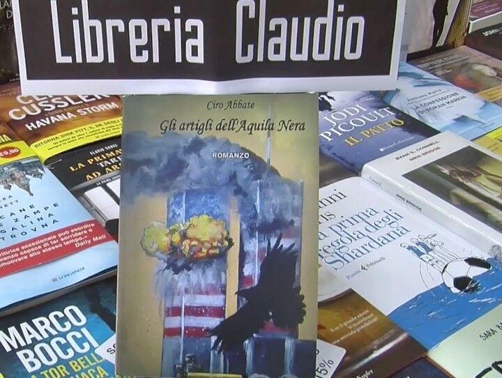 """L'angolo del libro, Tobia Iodice presenta """"Gli artigli dell'aquila nera"""" di Ciro Abbate"""