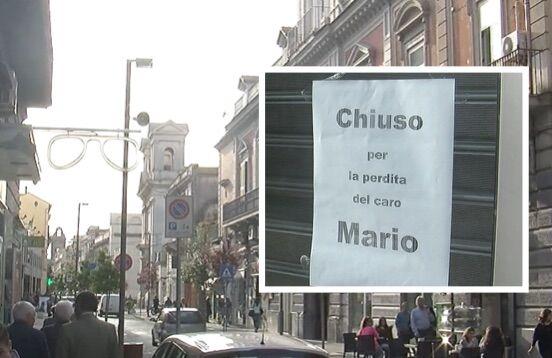 """Giugliano piange Mario, sconvolti i commercianti del centro: """"Un ragazzo per bene e lavoratore"""""""