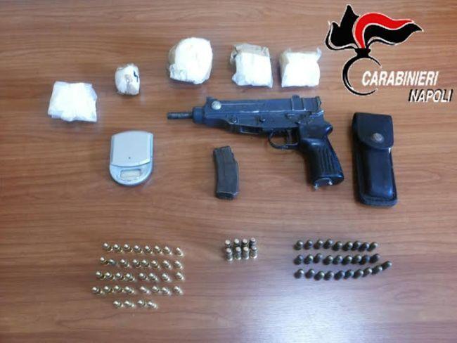 Mitra, proiettili ed una bomba con chiodi: sequestrato arsenale della camorra