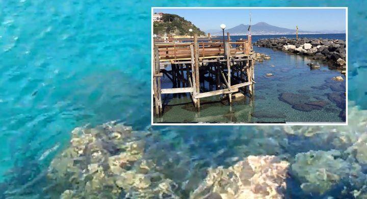 Napoli come la Sardegna, mare cristallino e vista mozzafiato. ECCO IL VIDEO