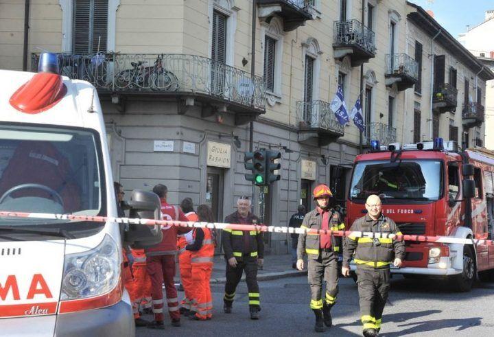 Paura in città, esplode bombola del gas: un ferito grave