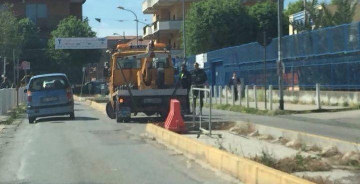 Giugliano, sosta selvaggia: task force della Polizia Municipale in via Basile