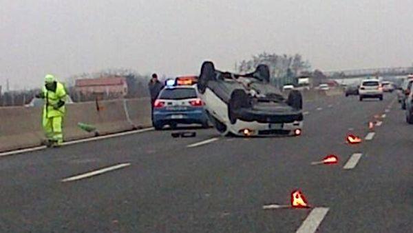 Incidente sull'A1, grave un 31enne di Casoria