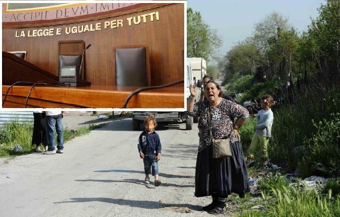 Giugliano, i rom portano il Comune in tribunale. Oggi prima udienza