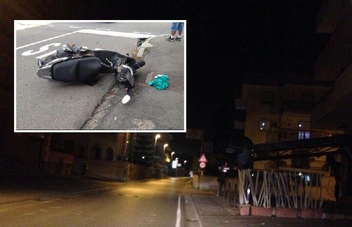 Incidente in via Santa Caterina a Giugliano, due centauri feriti. Uno è grave