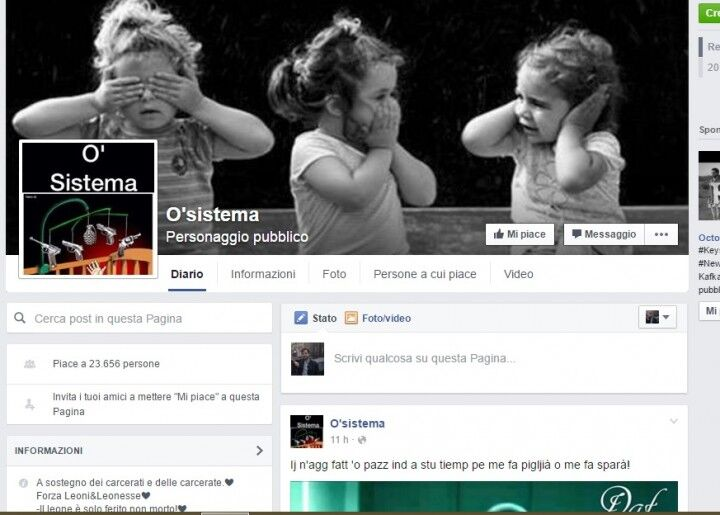 Facebook choc, nasce la fan page della camorra. Bufera in rete