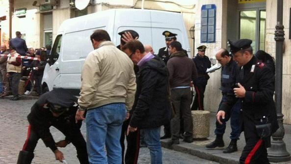 Assalto al portavalori, Napoli come il Far West