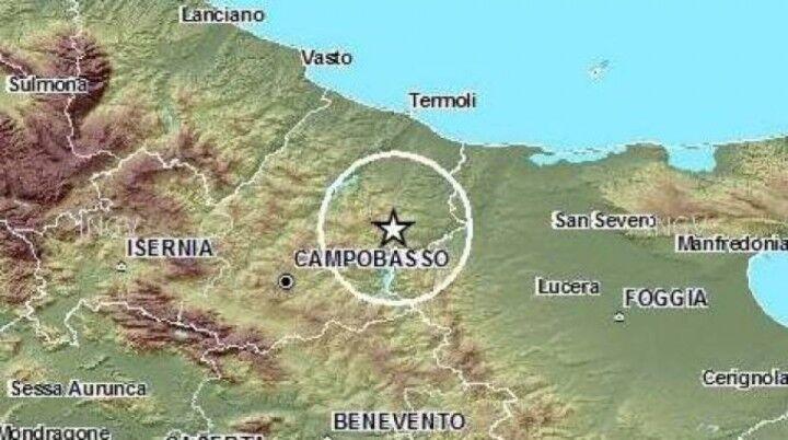 Scossa di terremoto avvertita anche in Campania