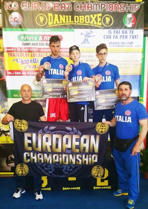 Kickboxing- Improta, porta tre medaglie degli Europei nell'agro aversano