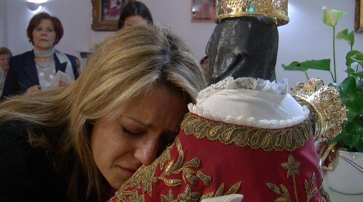 La Madonna della Pace fa visita agli ammalati