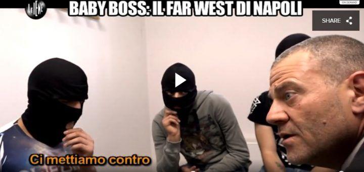 Servizio choc de Le Iene, incontro con i baby boss di Napoli