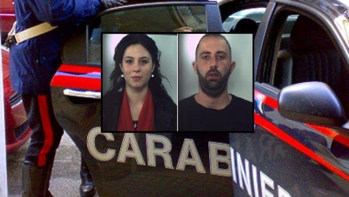 Spaccio di cocaina ad Aversa, coppia in manette