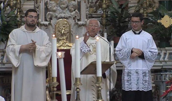 """Giugliano, il monito di Don Angelo dall'altare del Santuario: """"Restaurate l'Annunziata"""""""