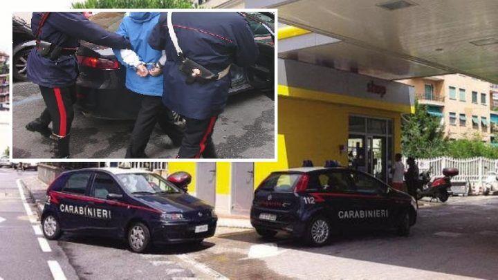 """Stavano rubando carburante da un distributore """"Q8"""" sull'Appia. Tre arresti"""