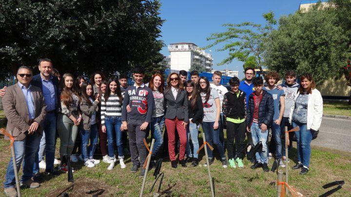 Marano, orto didattico al liceo Segré