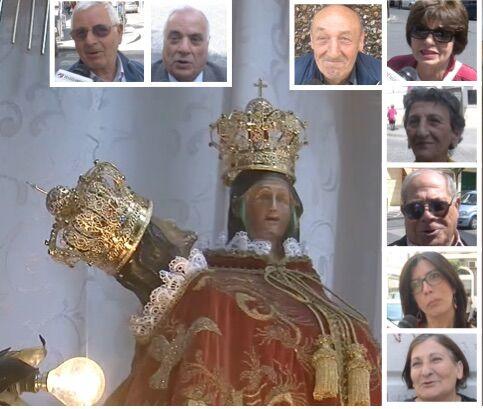 Giugliano, aspettando i festeggiamenti in onore della Madonna della Pace: i ricordi dei fedeli