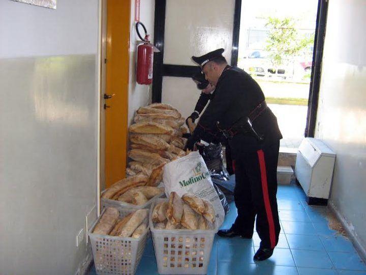 Maxi-blitz contro panifici fuorilegge, sequestrate 3 tonnellate di pane