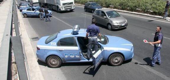 Circumvallazione esterna blindata, controlli a tappeto della Polizia di Stato