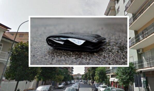 Giugliano. Donna dell'est trova un portafogli per strada, cerca il proprietario e lo restituisce