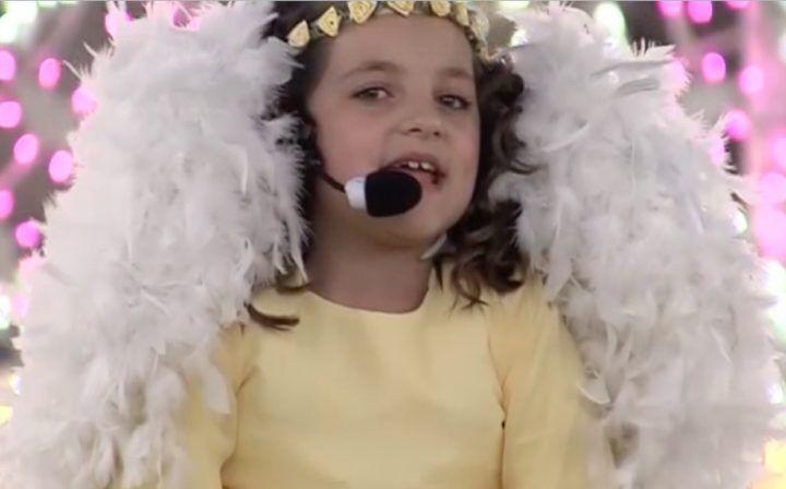 Madonna della Pace, il volo della piccola Serena