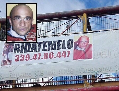 """Sparito da 5 anni a Villaricca, uno striscione sul doppio senso: """"Ridatemelo"""""""