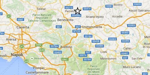 Trema la Campania, tre scosse in 24 ore