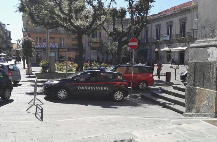 Perquisizioni e controlli in centro, operazione sicurezza dei carabinieri di Giugliano