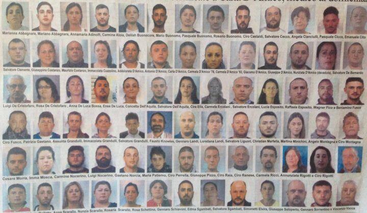 Smantellata la camorra di Napoli Est, tutti i nomi e le persone arrestate