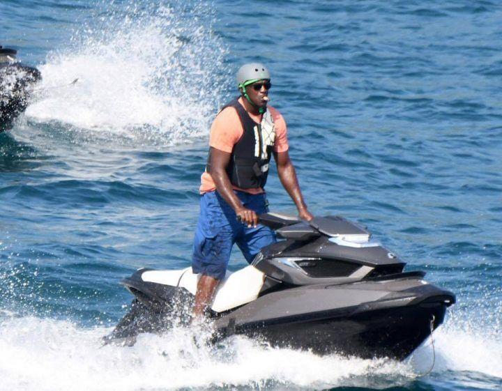 Michael Jordan in vacanza in costiera amalfitana