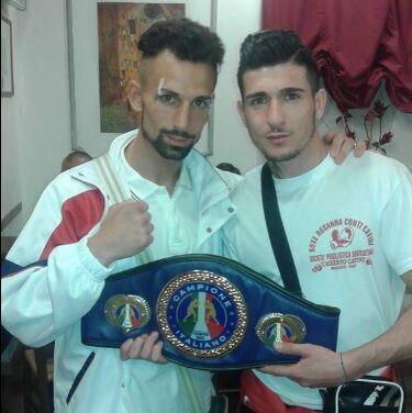 Nicola Cippoletta campione boxe