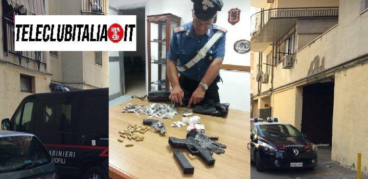 Alta tensione a Melito, dopo l'agguato di ieri ritrovate pistole e droga