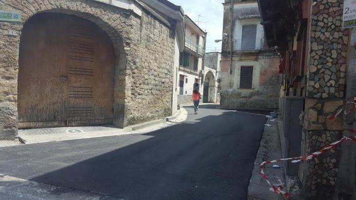 Mugnano, conclusa la pavimentazione di via Della Resistenza e via Rossetti