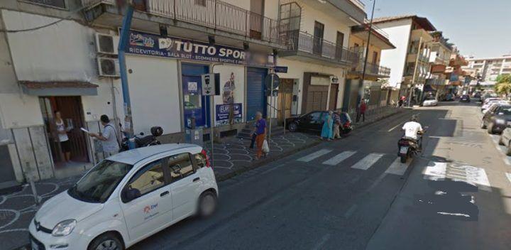 Giugliano, criminalità scatenata: colpo all'Eurobet di via di Vittorio