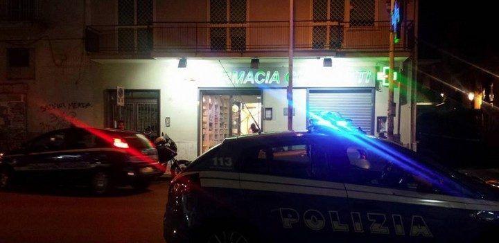 Giugliano, ladri in azione alla farmacia Cicchetti di via Palumbo