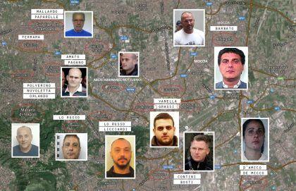 mappa criminale