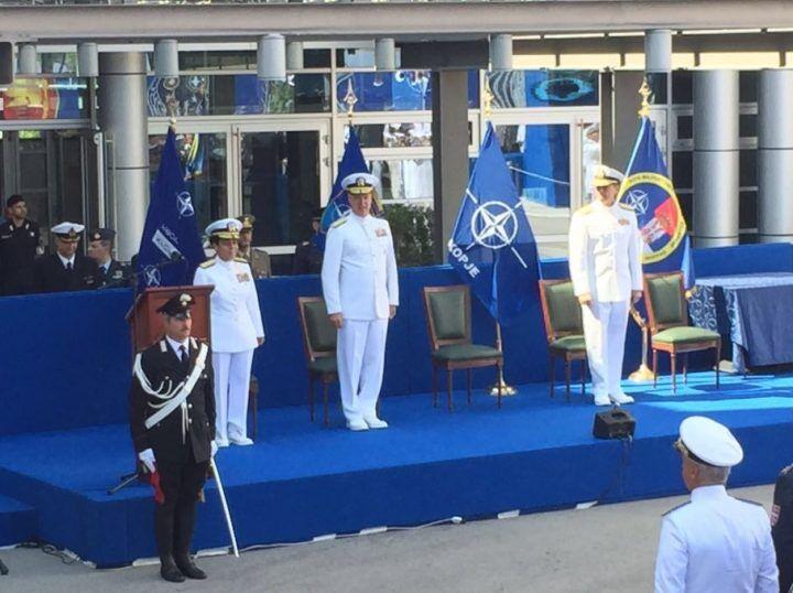 Lago Patria, alla Nato si insedia il primo ammiraglio donna afro americana