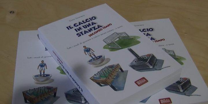 """Presentato a palazzo Palumbo il libro """"Il calcio in una stanza"""" di Gino Svanera"""