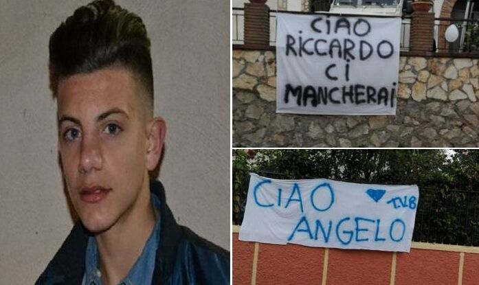 """Provincia, dolore e incredulità ai funerali di Riccardo: """"Ciao angelo"""""""
