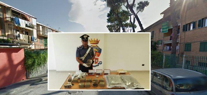 Operazione nel Rione Traiano: sequestri di droga, perquisizioni e cancelli rimossi