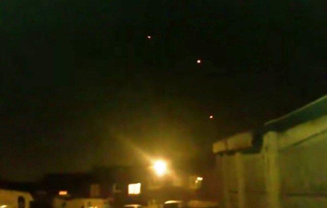 Aversa, avvistati ufo nel cielo. Traffico bloccato in centro