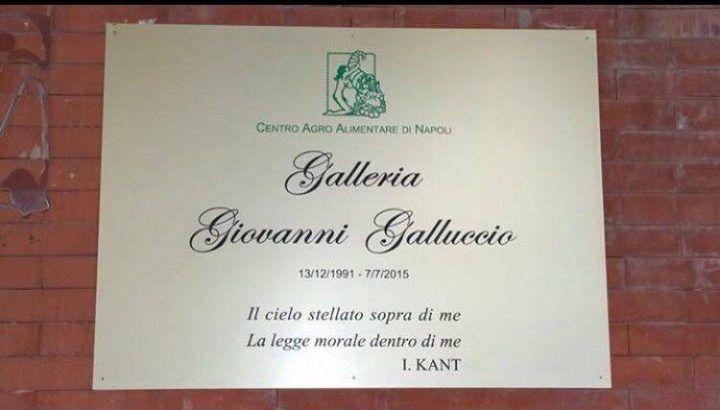 Mercato di Volla, oggi l'intitolazione della Galleria a Giovanni Galluccio