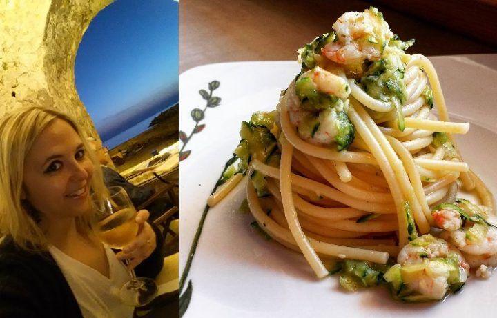 """""""Ricette e sapori della nostra buona terra"""" – Spaghetti zucchine e gamberi"""