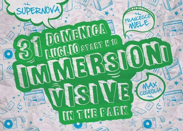 """""""Immersioni visive in the park"""", arte al parco pubblico Giovanni Paolo II di Pomigliano d'Arco"""
