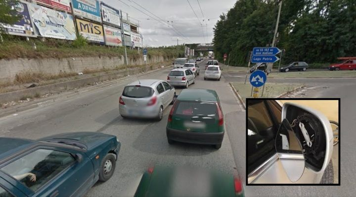 """Via Appia, in azione la """"banda dello specchietto"""". Occhio a quest'auto"""