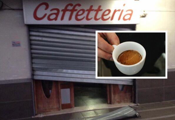 """Bar derubato in via Ripuaria, l'iniziativa del web per aiutarli a ripartire: """"Andiamo a prenderci il caffè"""""""
