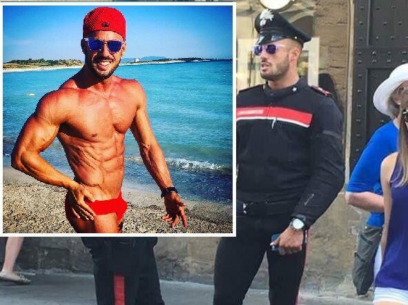 Scoperta l'identità del sexy carabiniere più bello d'Italia. Ecco chi è