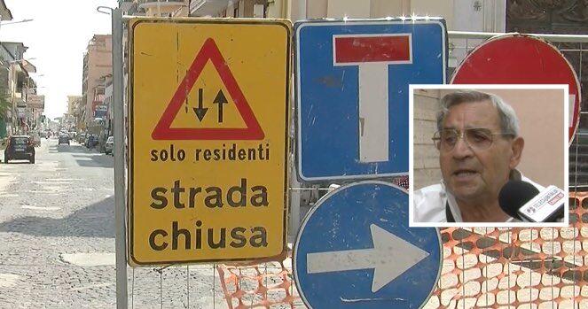 """Via Colonne chiusa al traffico, commercianti in difficoltà. I residenti: """"Trattati come cittadini di serie B"""""""