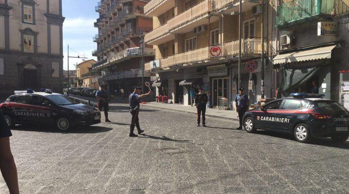 Operazione dei carabinieri di Giugliano in tutto l'hinterland: 5 arresti e 14 denunce. I NOMI