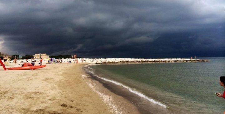 Arriva il ciclone Circe, tempo incerto e temperature in calo
